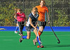 4 October 2014. Peffermill, Edinburgh.  Girls Youth Inter-District Hockey. Under 16 Midland v Highland