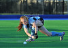 4 October 2014. Peffermill, Edinburgh.  Girls Youth Inter-District Hockey. Under 18 South v East