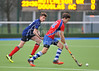 13 March 2015. National Hockey Centre, Glasgow Green.<br /> Quilter Cheviot Scottish Schools Cup & Plate Finals<br /> S3 Boys Cup Final - Hutchesons' Grammar School v Douglas Academy