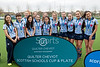 22 April 2016 at the National Hockey Centre, Glasgow Green. Scottish Schools Finals:<br /> Girls Aspire Cup winners -  St. Margaret's