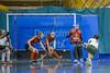 11 February 2017 at Bells Sports Centre, Perth.<br /> Scottish Under 18 Girls Indoor Hockey Interdistrict Tournament.<br /> South v North