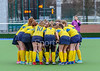 16 March 2018 at the National Hockey Centre, Glasgow Green. Scottish Schools Cup Finals night.<br /> Aspire Girls Plate Final – Perth Schools v Millburn Academy