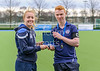 16 March 2018 at the National Hockey Centre, Glasgow Green. Scottish Schools Cup Finals night.<br /> Aspire Boys Cup – Renfrew Schools v Douglas Academy