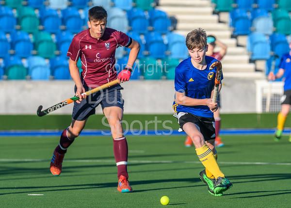 5 November 2017 at the National Hockey Centre, Glasgow Green. Scottish Under 18 Cup Finals day. Uddingston v Watsonians