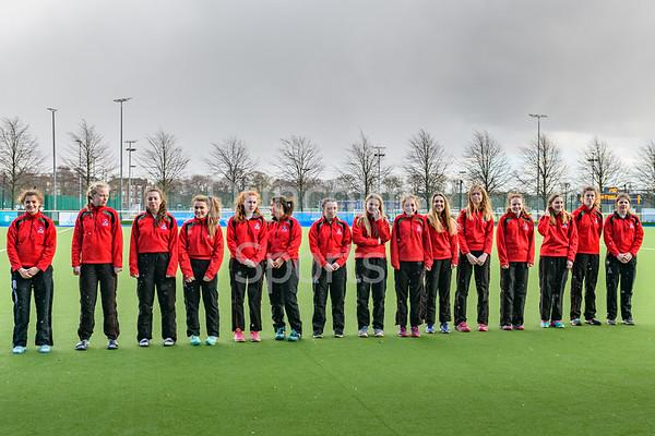 15th March 2019 at the National Hockey Centre, Glasgow Green. Scottish Hockey Senior Schools Finals. <br /> The Aspire Girls Plate - Albyn School