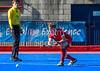 22 September 2018 at Peffermill, Edinburgh.  Scottish Hockey Youth Interdistricts, under 16 boys. Midlands v East.