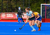 29 September 2018 at Peffermill, Edinburgh. Scottish Hockey Girls Interdistricts Under 16 - East v West