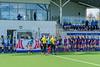 15th March 2019 at the National Hockey Centre, Glasgow Green. Scottish Hockey Senior Schools Finals. <br /> Senior Girls Plate - Hutchesons' Grammar School v Edinburgh Academy