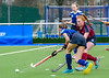 8th March 2019 at the National Hockey Centre, Glasgow Green. Scottish Hockey Junior Schools Finals. <br /> Junior Girls Bowl Final - Kelvinside Academy v George Watsons College