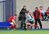 21 March 2014 at Scottish National Hockey Centre, Glasgow Green.<br /> S3 Boys Cup Final<br /> Douglas Academy v Loretto School