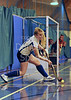 Mary Erskine School v Strathallan. Under 18 Indoor Cup Hockey at Bells Sports Centre, Perth on 18 January 2014