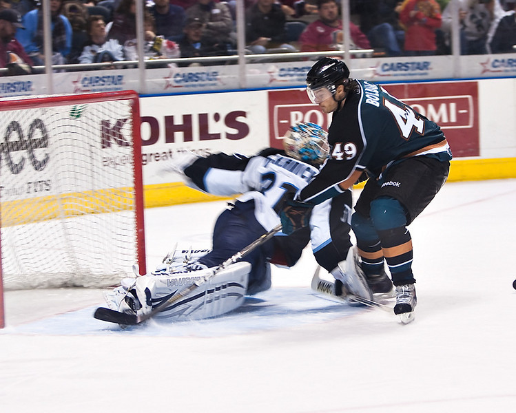 AHL (American Hockey League) in Photos- Mark Dekanich Milwaukee Admirals