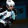 Milwaukee Admirals Chris Cahill skates out during player introductions