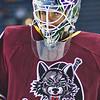 Chicago Wolves goaltender Eddie Lack
