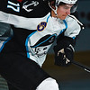 Milwaukee Admirals Michael Latta skates out during player introductions