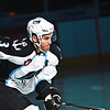 Milwaukee Admirals Jeff Foss skates out during player introductions