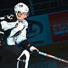 Milwaukee Admirals Ryan Thang skates out during player introductions