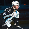 Milwaukee Admirals Zach Storini skates out during player introductions