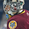 Chicago Wolves goaltender Matt Climie