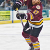 Chicago Wolves forward Mike Duco in warmups