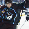 Milwaukee Admirals' Kyle Wilson celebrates after his goal