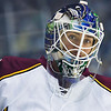 Chicago Wolves goaltender Eddie Lack