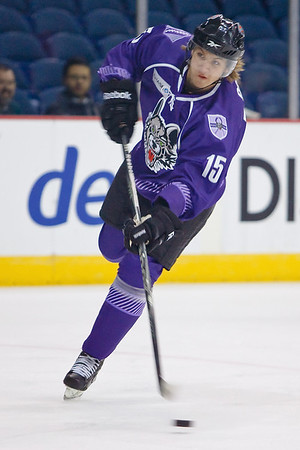 2012 January 18 Texas Stars at Chicago Wolves