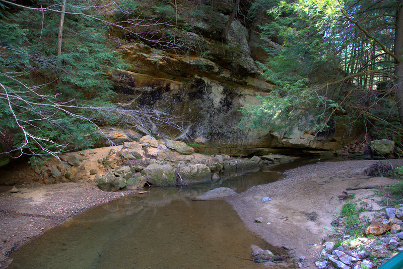Photo By Bob Bodnar................Ash Cave Area of Hocking Hills State Park