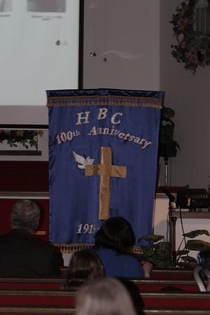Hodgen Baptist ~ 100th Anniversary