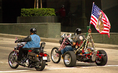 CHiPs for Kids ride, LA, CA