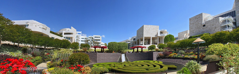 Getty Museum, CA