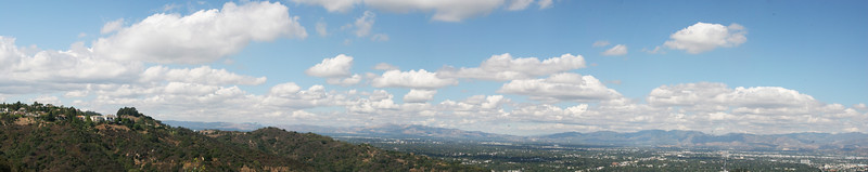 View from Mulholland between Laurel & Coldater