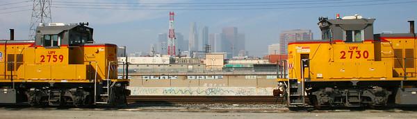 LA Train yards, CA