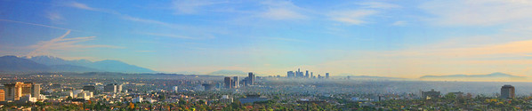 View from Century City looking SE