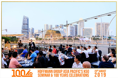 Hoffman Group Asia Pacific's K50 Seminar & 100 Years Celebration | © SRSLYPhotobooth.sg