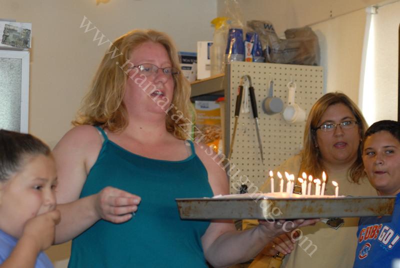 Celebrating Nate Birthday