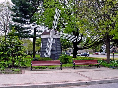 Dutch Wind Mill on the Campus of Hofstra University