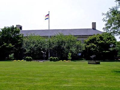 Calkins Hall at Hofstra University
