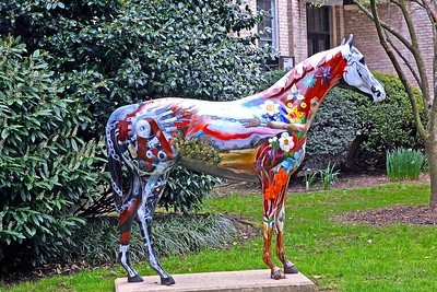 Horse of Many Colors at Hofstra