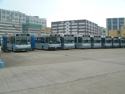 CMB Line Up 1 Roof of Chai Wan Depot Feb 04