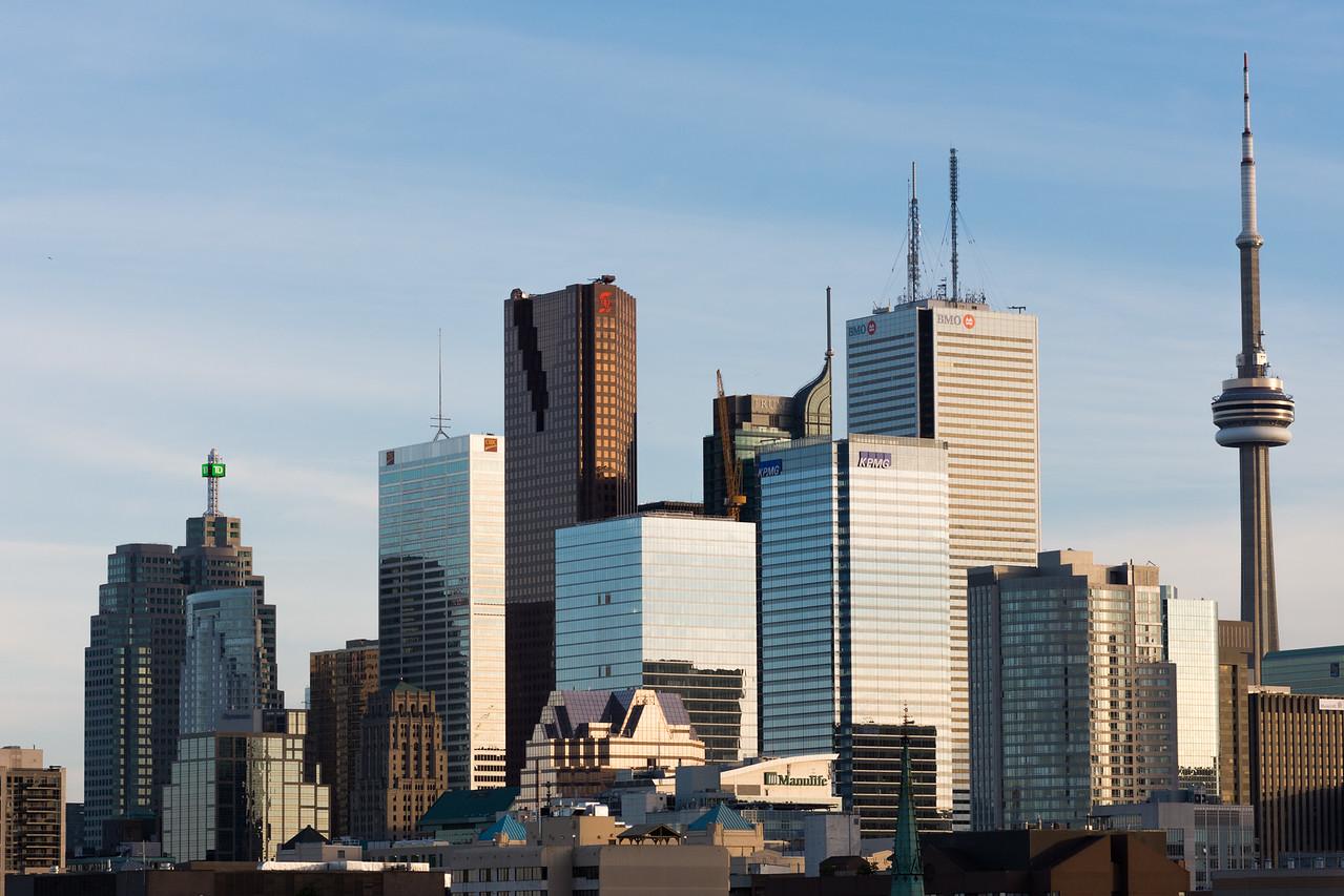 Toronto Skyline, Late Spring 2015