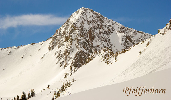 Hogum Fork / Peak 11,137 / Pfeifferhorn