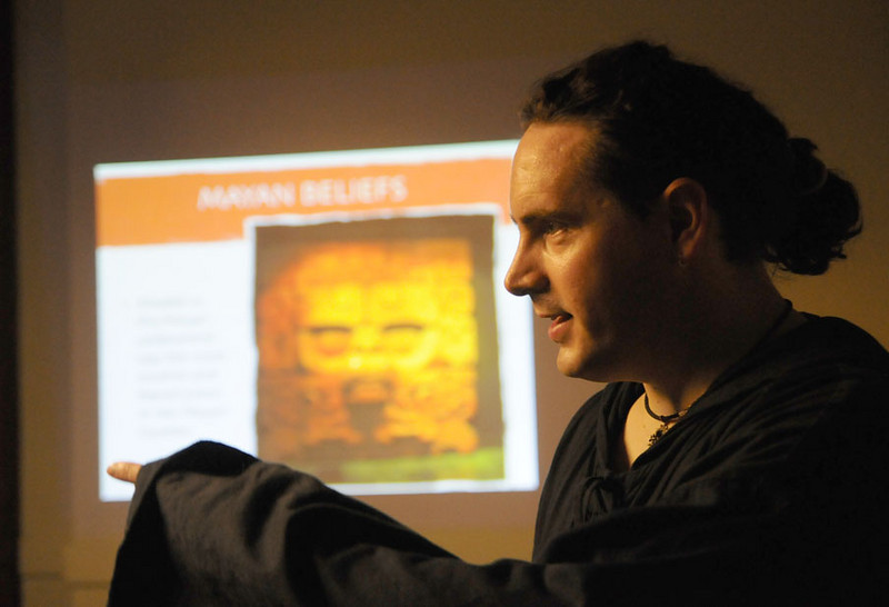 Professor Vercengetorix, teacher of Mayan magic.