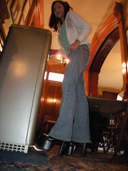Morgana's big shoes.
