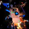 fizzBOOM making glow-in-the-dark nasty stuff.