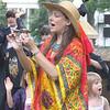 Lady Luna leading Dances for Universal Peace