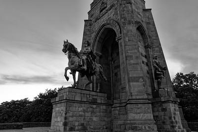 William I & Otto von Bismarck (b/w)