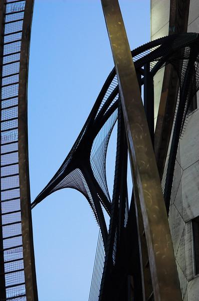 Esculturas en el centro de Rotterdam