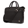 Holborn; Princeton; Briefcase; 15.6''; 43-201-BLK; Three Quarter with Strap