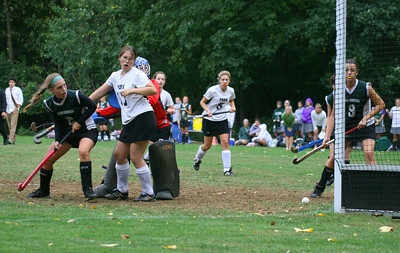 Michelle's goal assisted by Ashley!